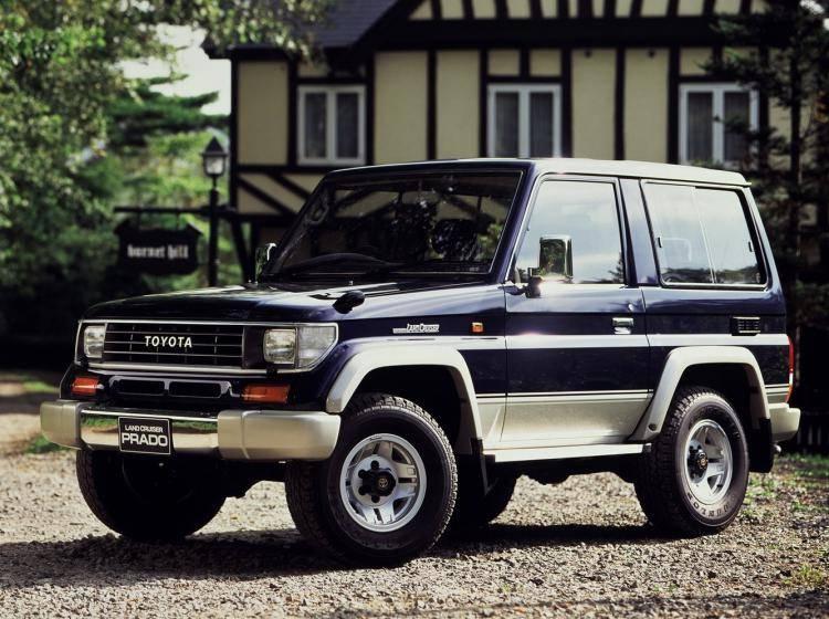 фотография Toyota Land Cruiser Prado 70