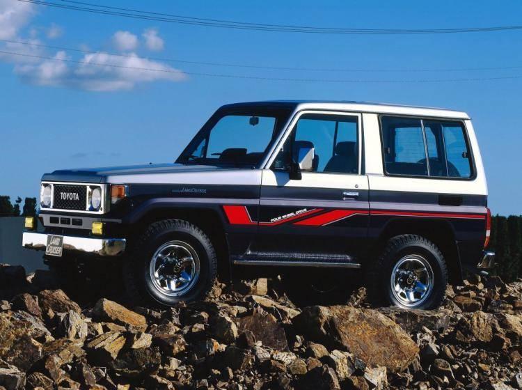 фотография Toyota Land Cruiser 70