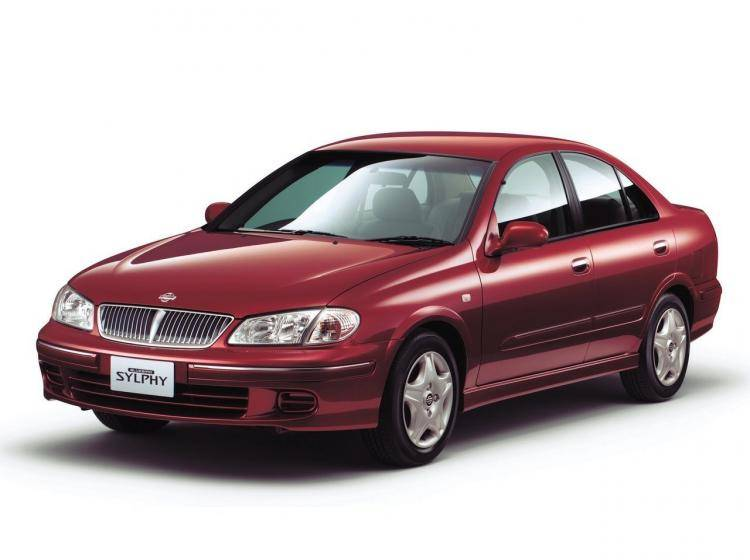 Фото Nissan Bluebird Sylphy I - схожий с Buick Excelle I