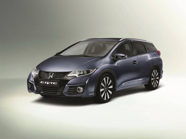 Фото Honda Civic IX рестайлинг - конкурент Volkswagen Scirocco R I